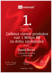 David Bureš ocenění