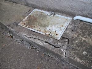Vlhký sklep u starší nemovitosti