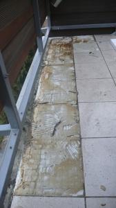 Balkon bez dlažby